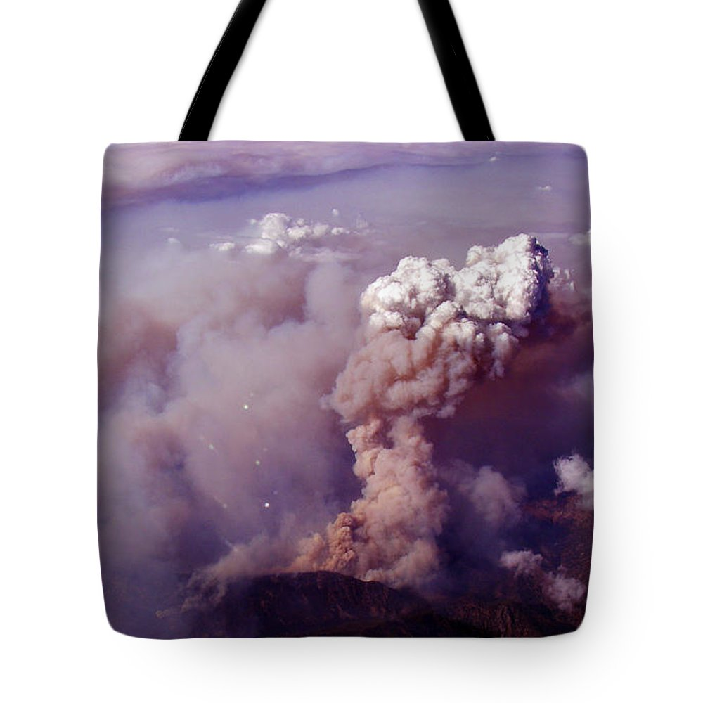 Tote Bag featuring the photograph Up In Smoke.. Socal Style by Strato ThreeSIXTYFive