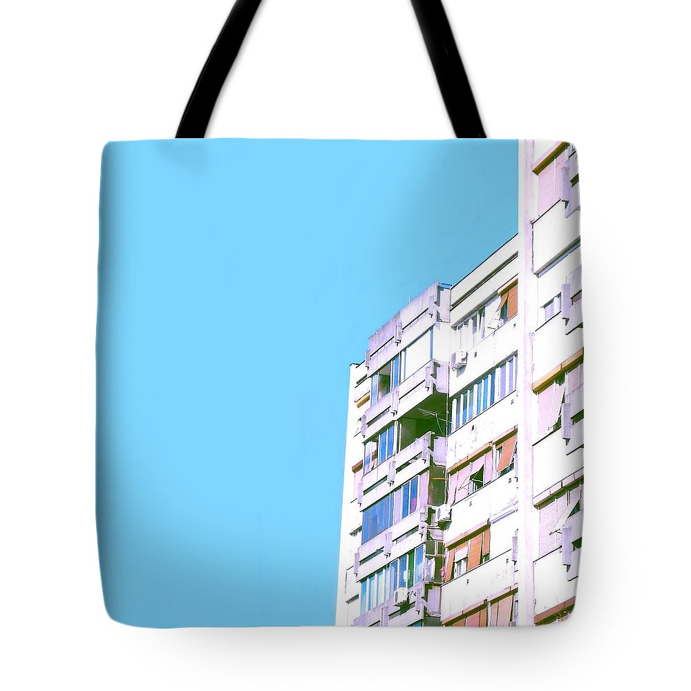Urban Tote Bag featuring the photograph Urban #1 by Teodora Bisenic