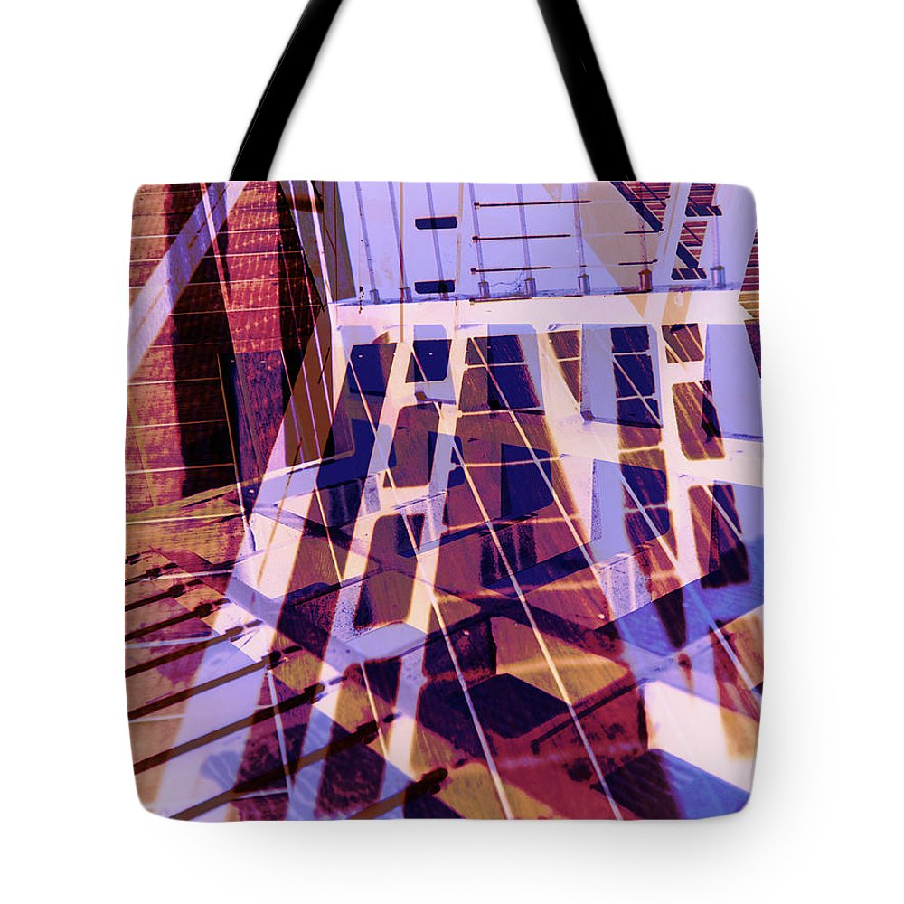 City Tote Bag featuring the photograph Urban Abstract 449 by Don Zawadiwsky