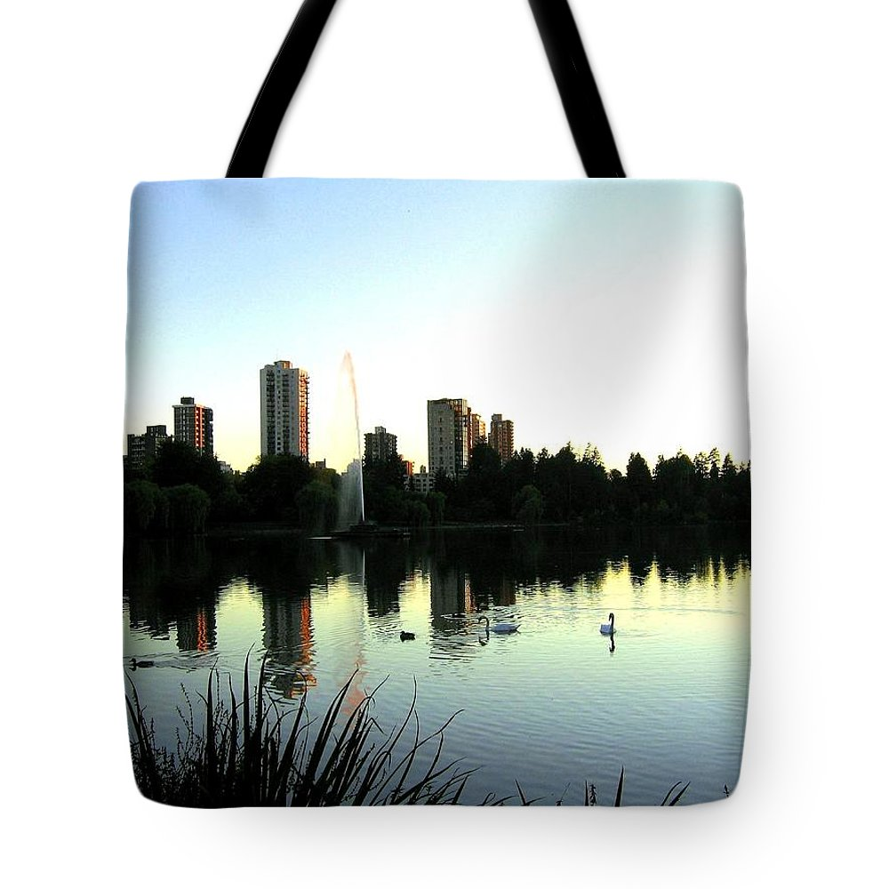 Vancouver Tote Bag featuring the photograph Urban Paradise by Will Borden