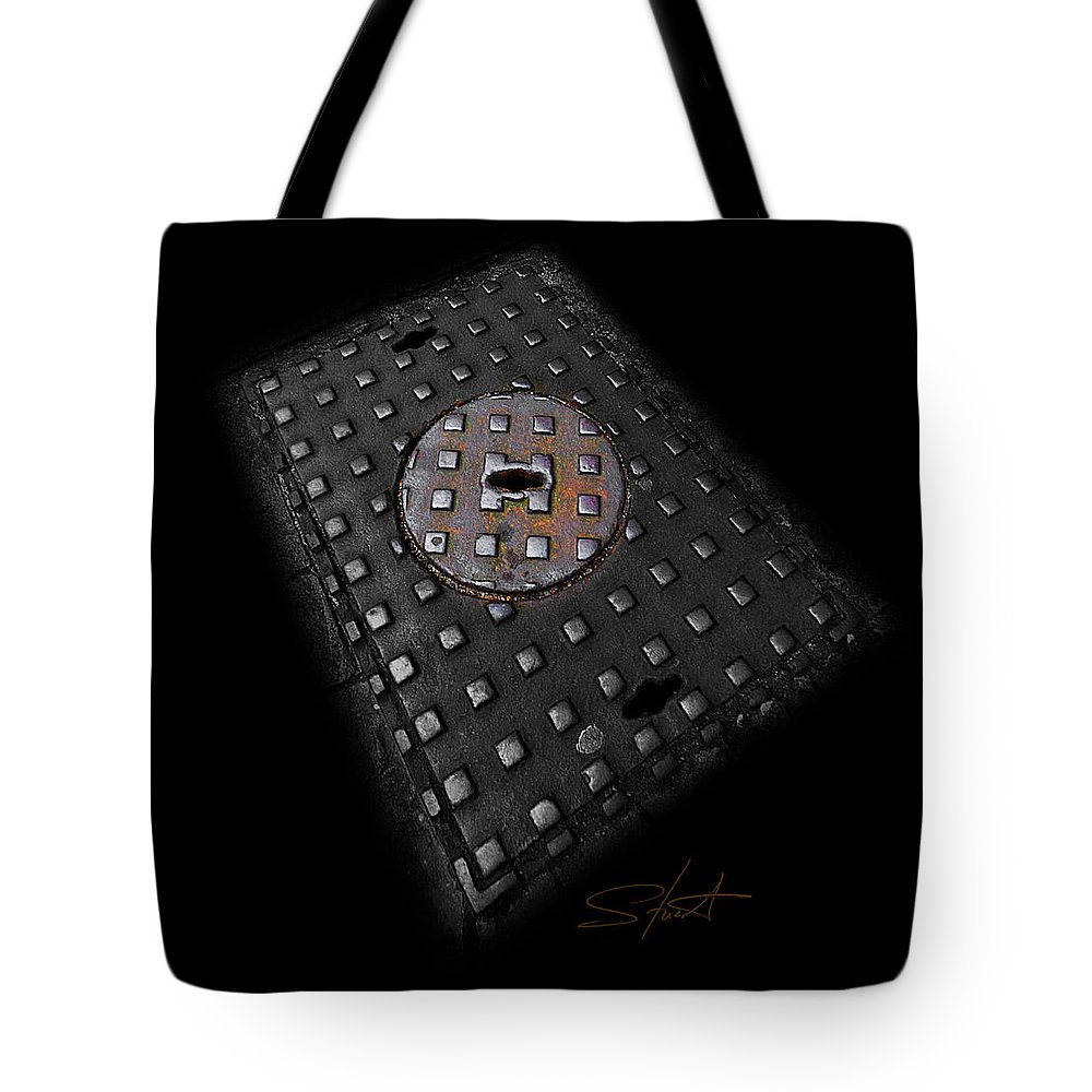 Urban Tote Bag featuring the photograph Urban Voice by Charles Stuart