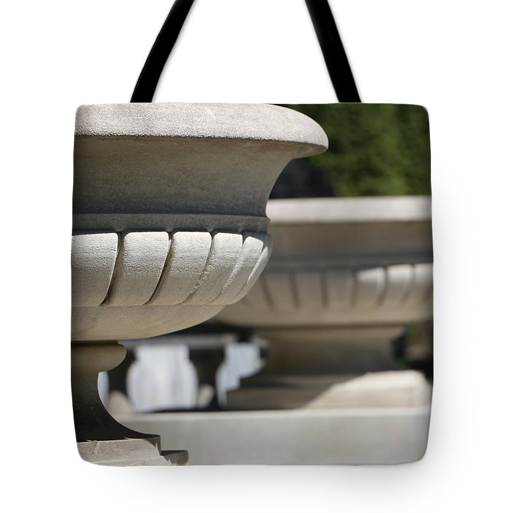Urns Tote Bag featuring the photograph Urns by Shelly John