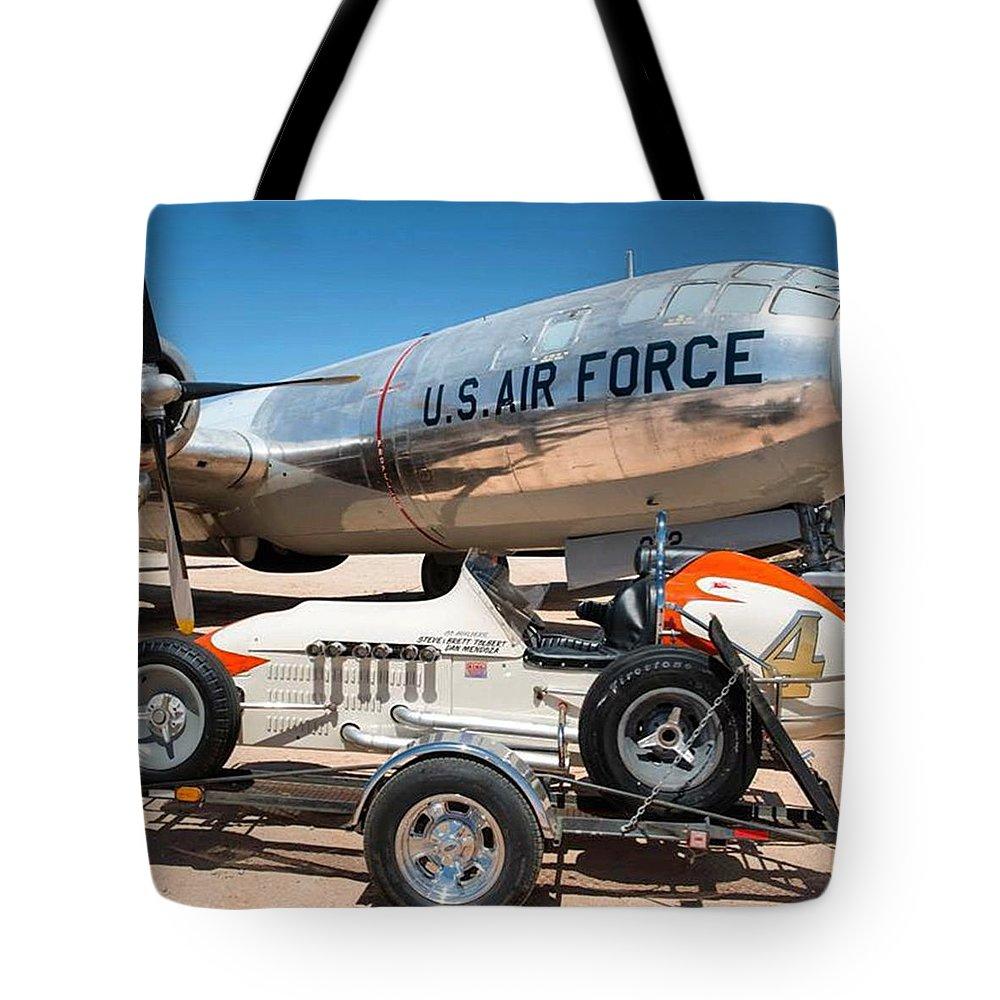 Race Car Tote Bags