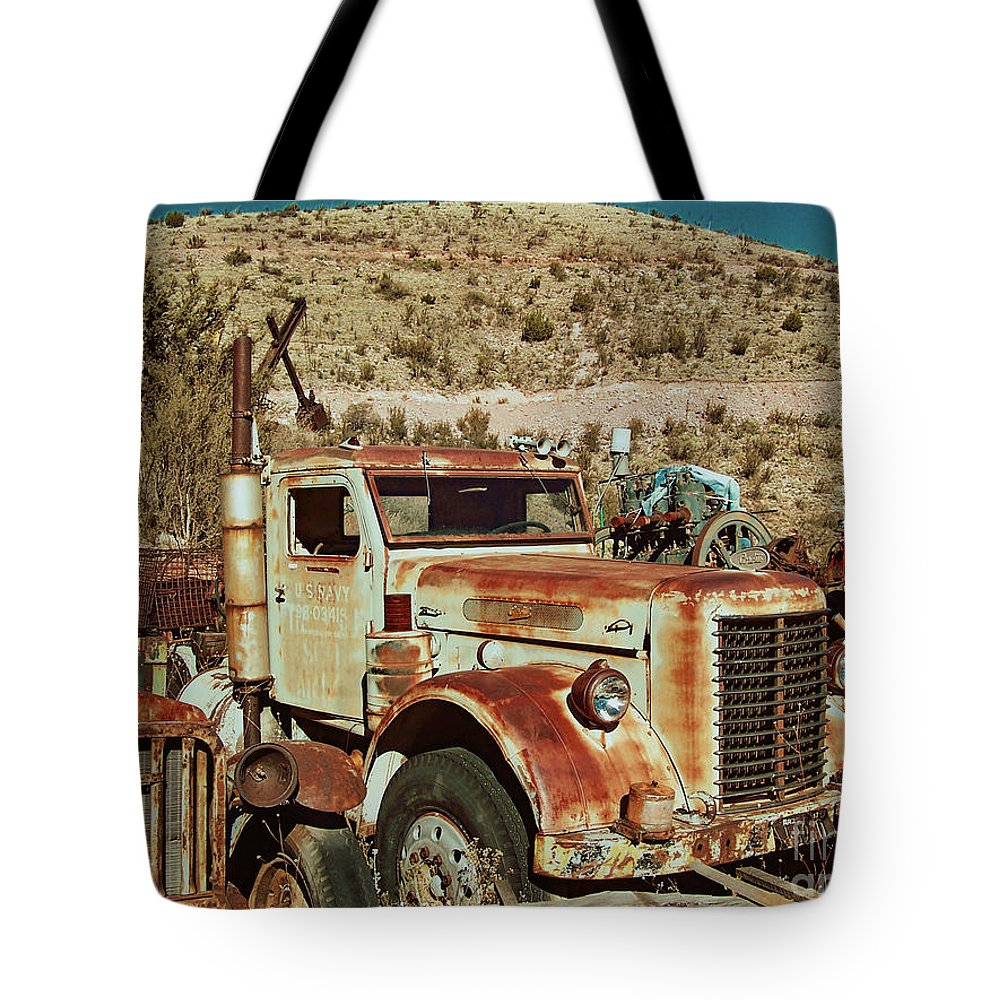 Tote Bag featuring the photograph Us Navy Retired by Edmund Mazzola
