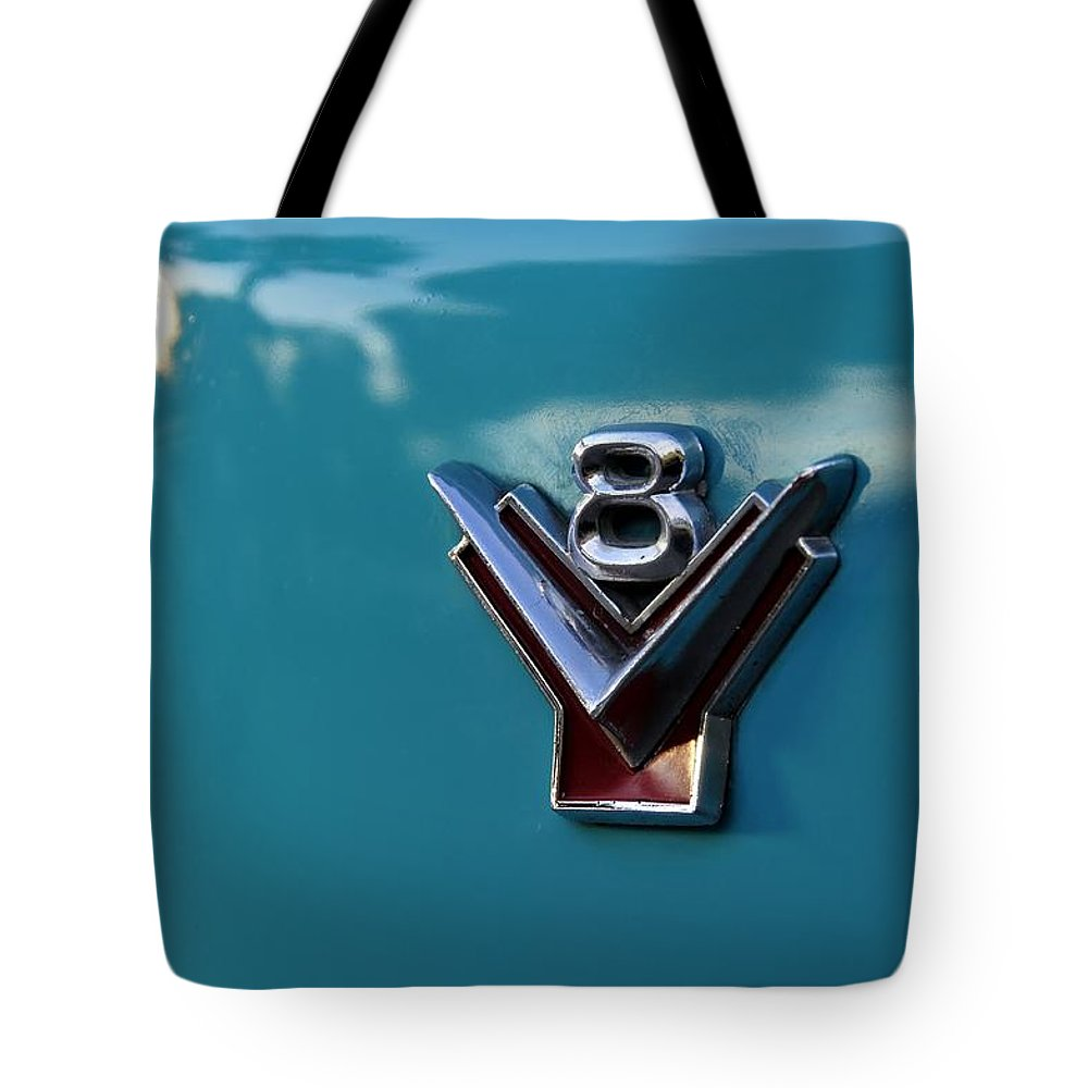 V 8 Tote Bag featuring the photograph V 8 by David Lee Thompson
