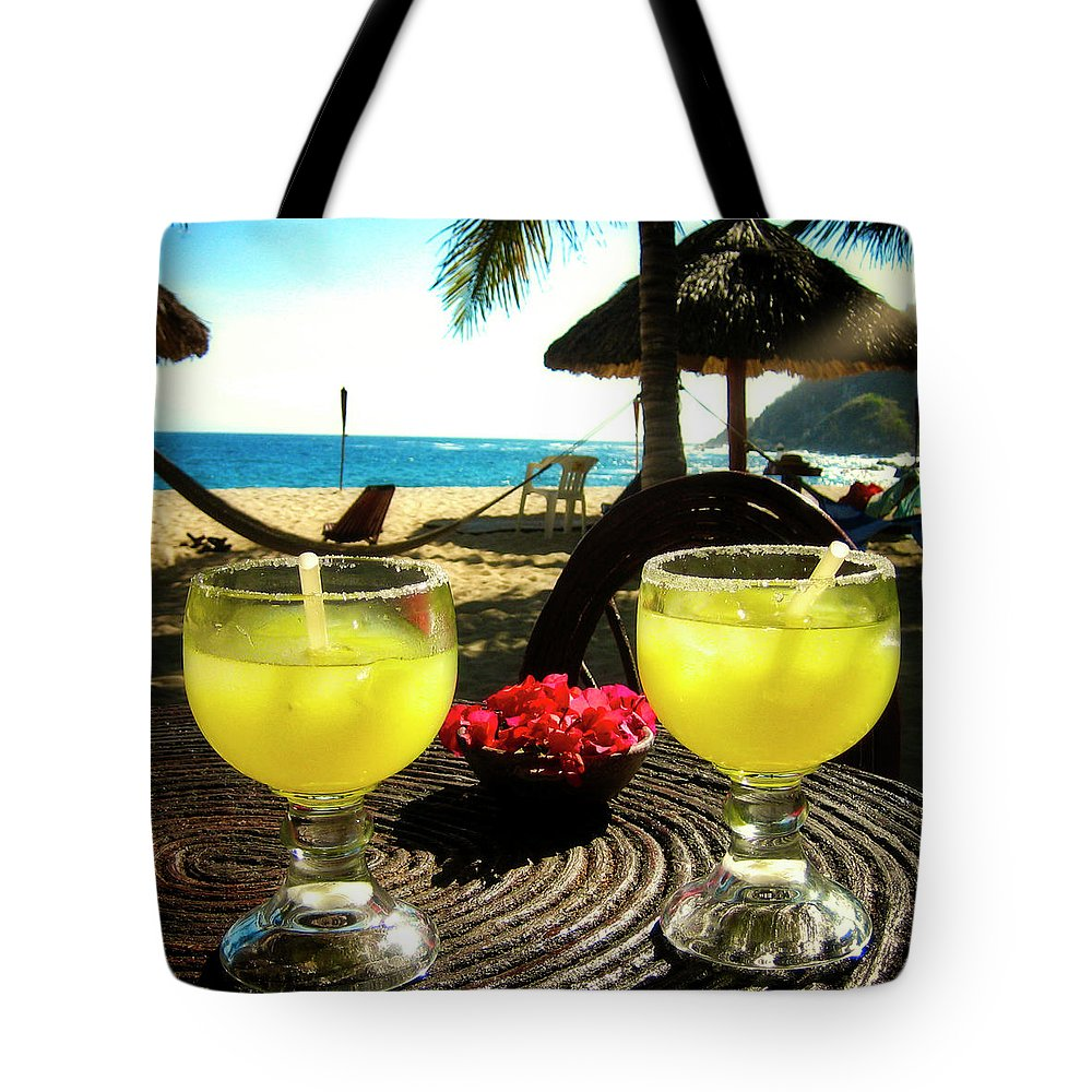 Beach Tote Bag featuring the photograph Vacation by James Burton