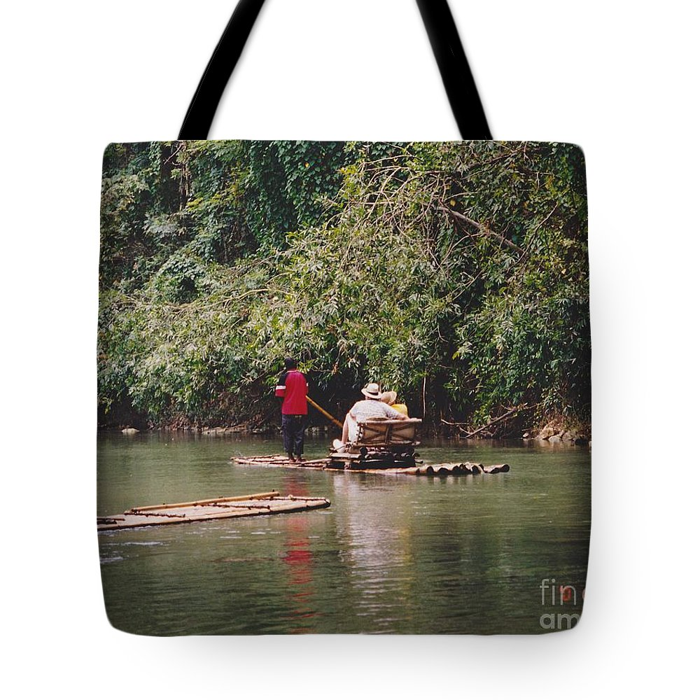 Water Tote Bag featuring the photograph Vacation Paradise by Michelle Powell
