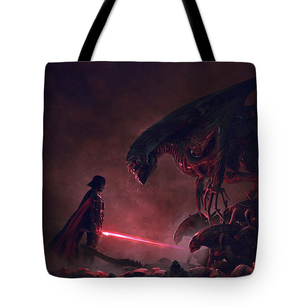Sith Digital Art Tote Bags