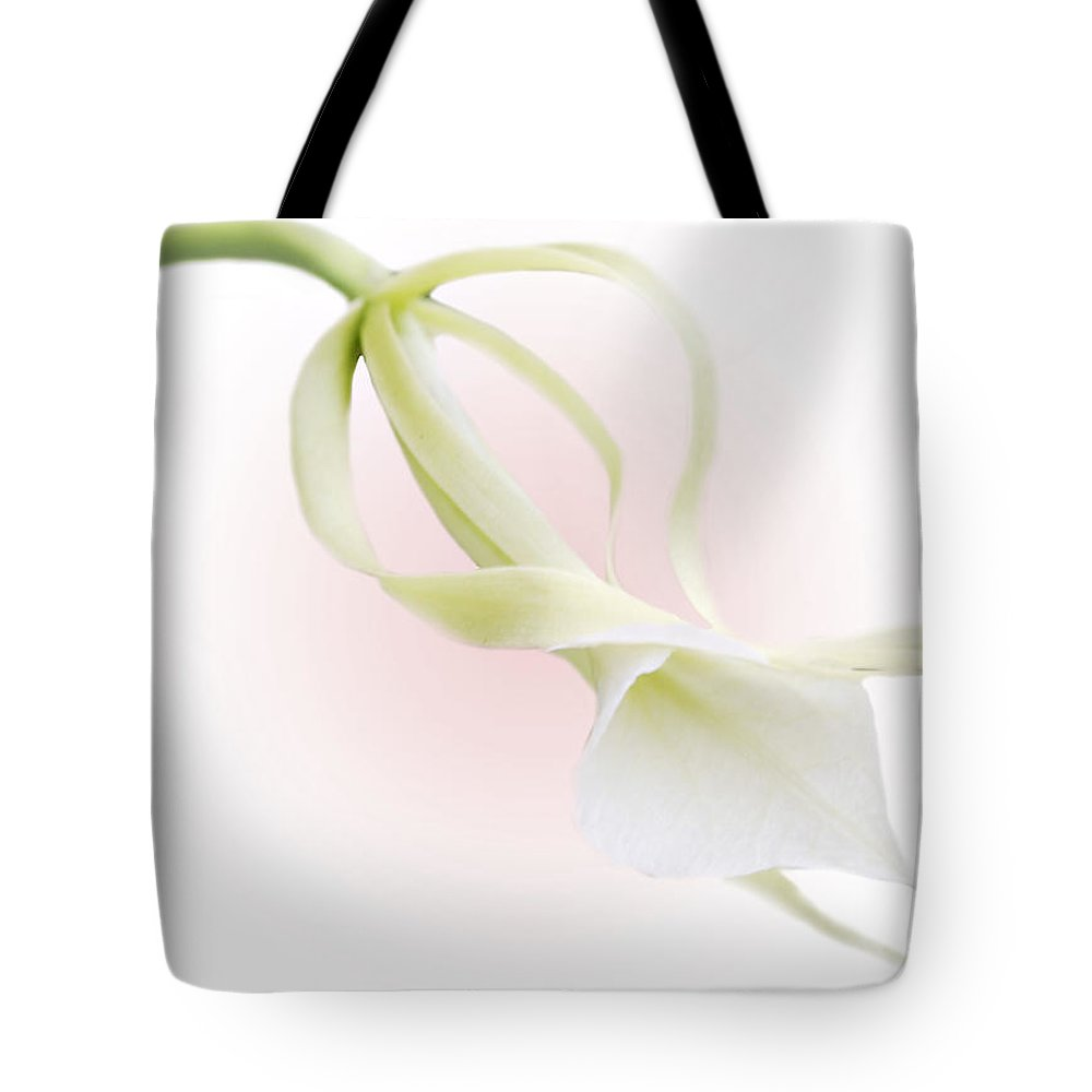 Love Tote Bag featuring the photograph Valentine Orchid by Marilyn Hunt