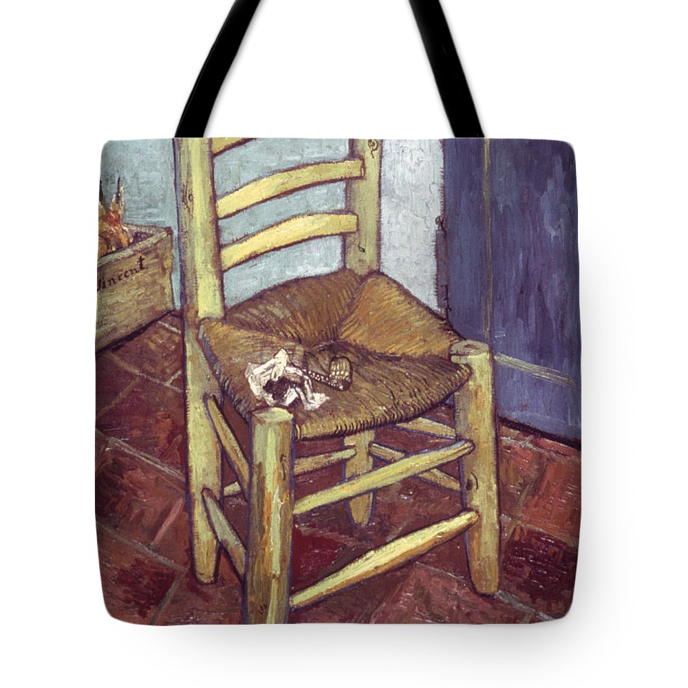 1888 Tote Bag featuring the photograph Van Gogh: Chair, 1888-89 by Granger