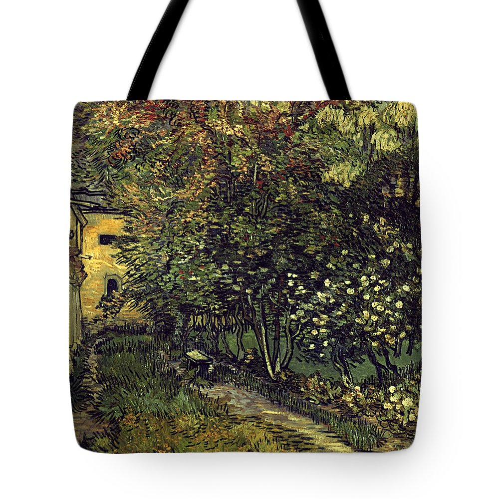 1889 Tote Bag featuring the photograph Van Gogh: Hospital, 1889 by Granger