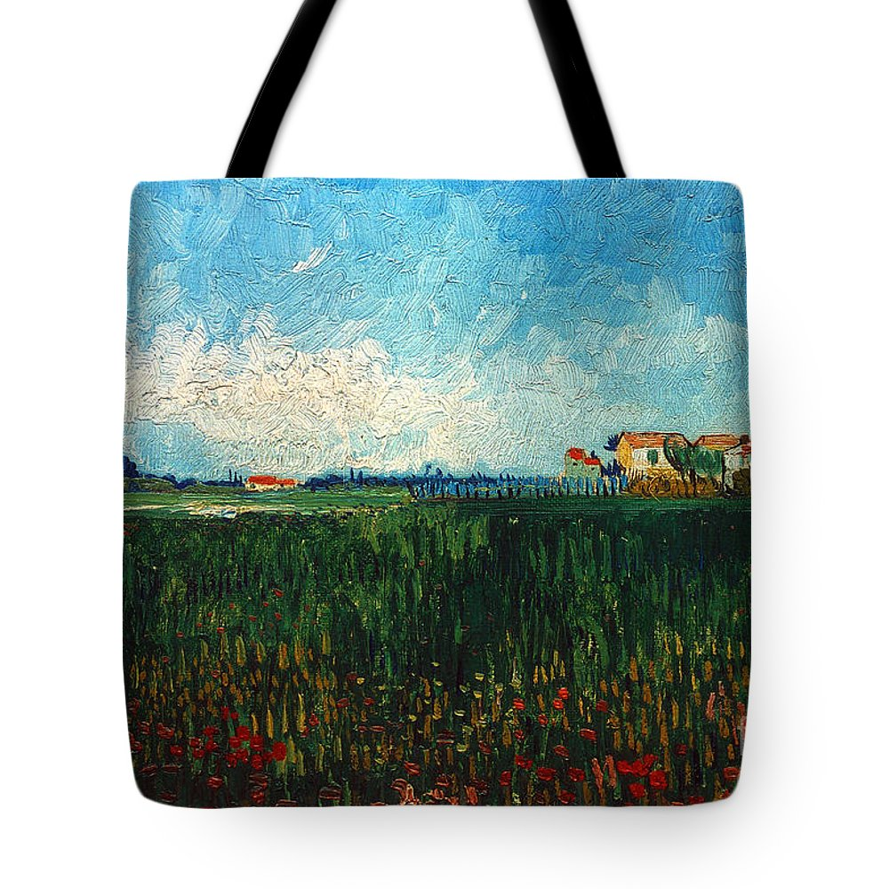 1888 Tote Bag featuring the photograph Van Gogh: Landscape, 1888 by Granger