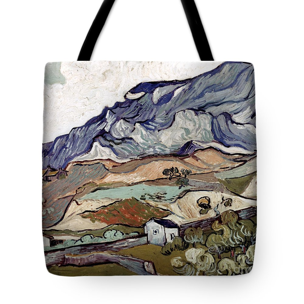 1890 Tote Bag featuring the photograph Van Gogh: Landscape, 1890 by Granger