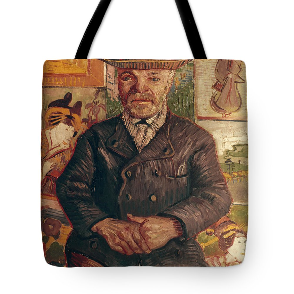 1887 Tote Bag featuring the photograph Van Gogh: Pere Tanguy, 1887 by Granger