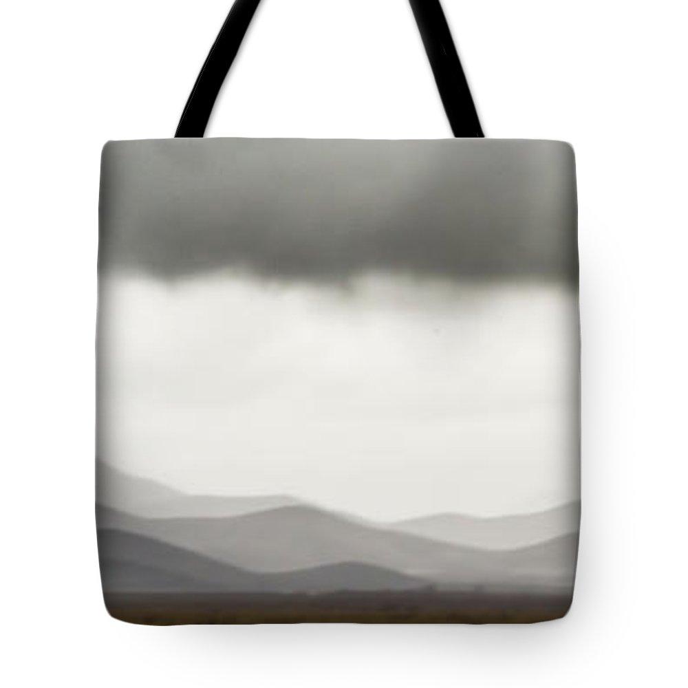Van Horn Tote Bag featuring the photograph Van Horn, Texas Storm by Sissy Schneiderman