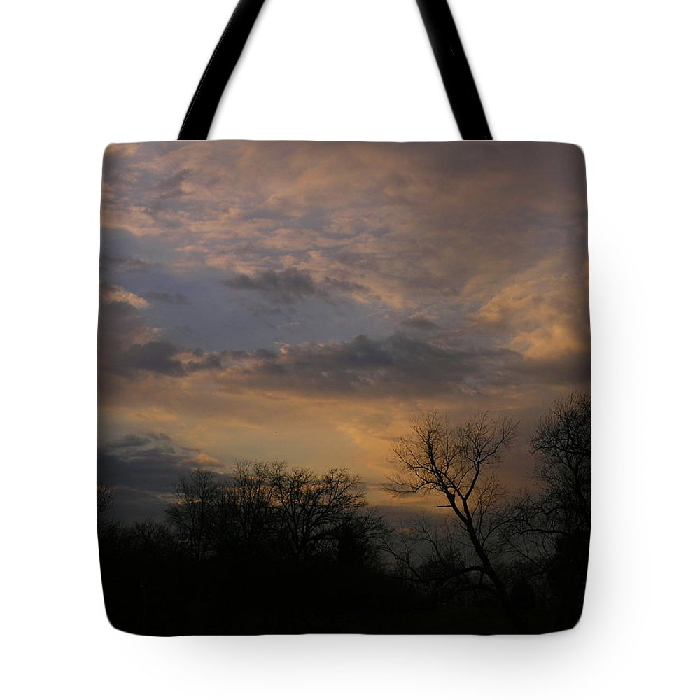 Sky Tote Bag featuring the photograph Vantage Point by Albert Stewart