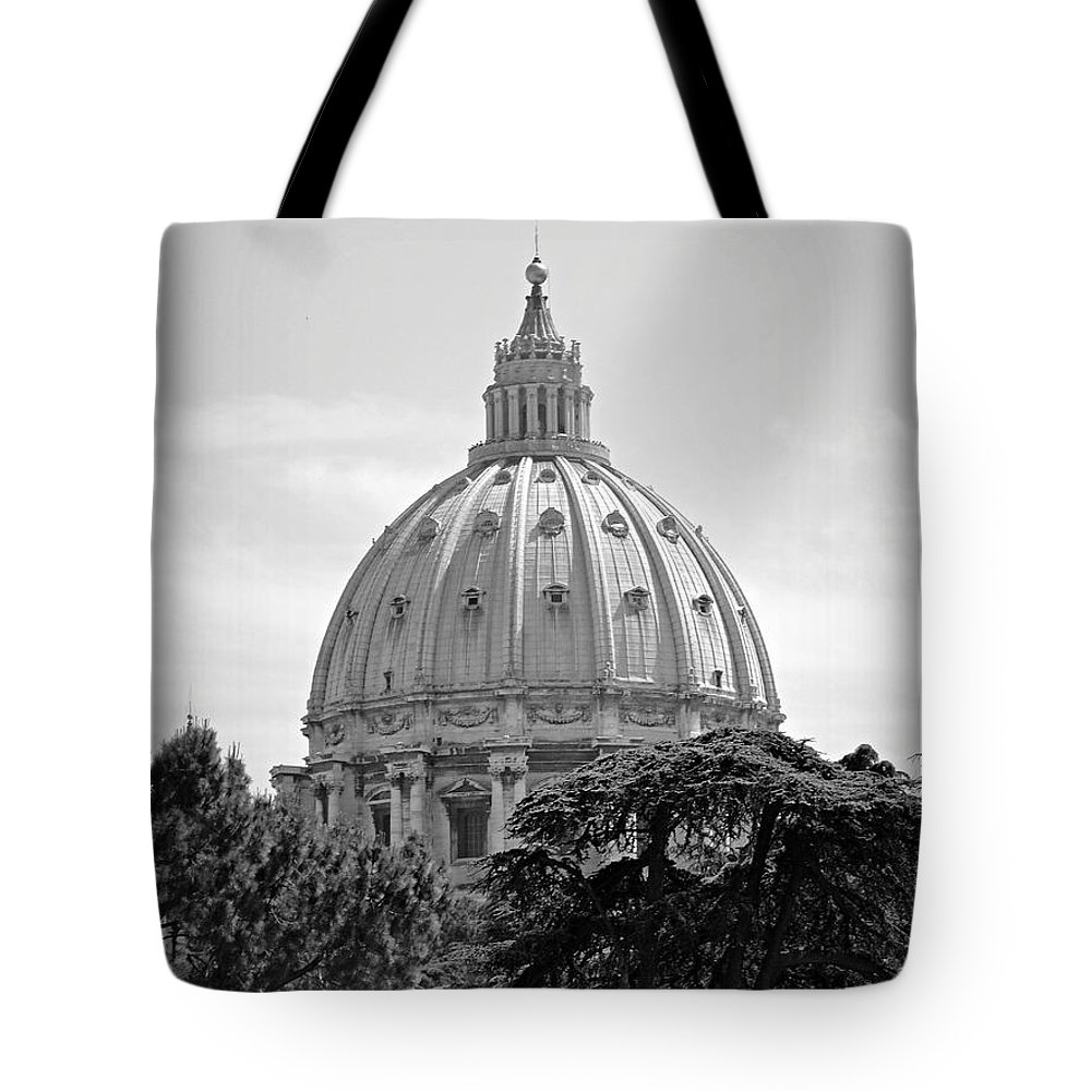 Vatican Tote Bag featuring the photograph Vatican City Dome by Meghan Owens