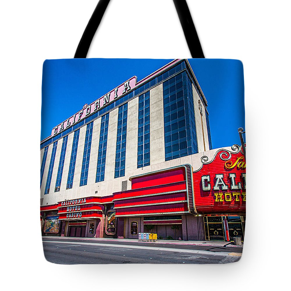 Travel Photography Tote Bag featuring the photograph Vegas #5 by Alex Kotlik