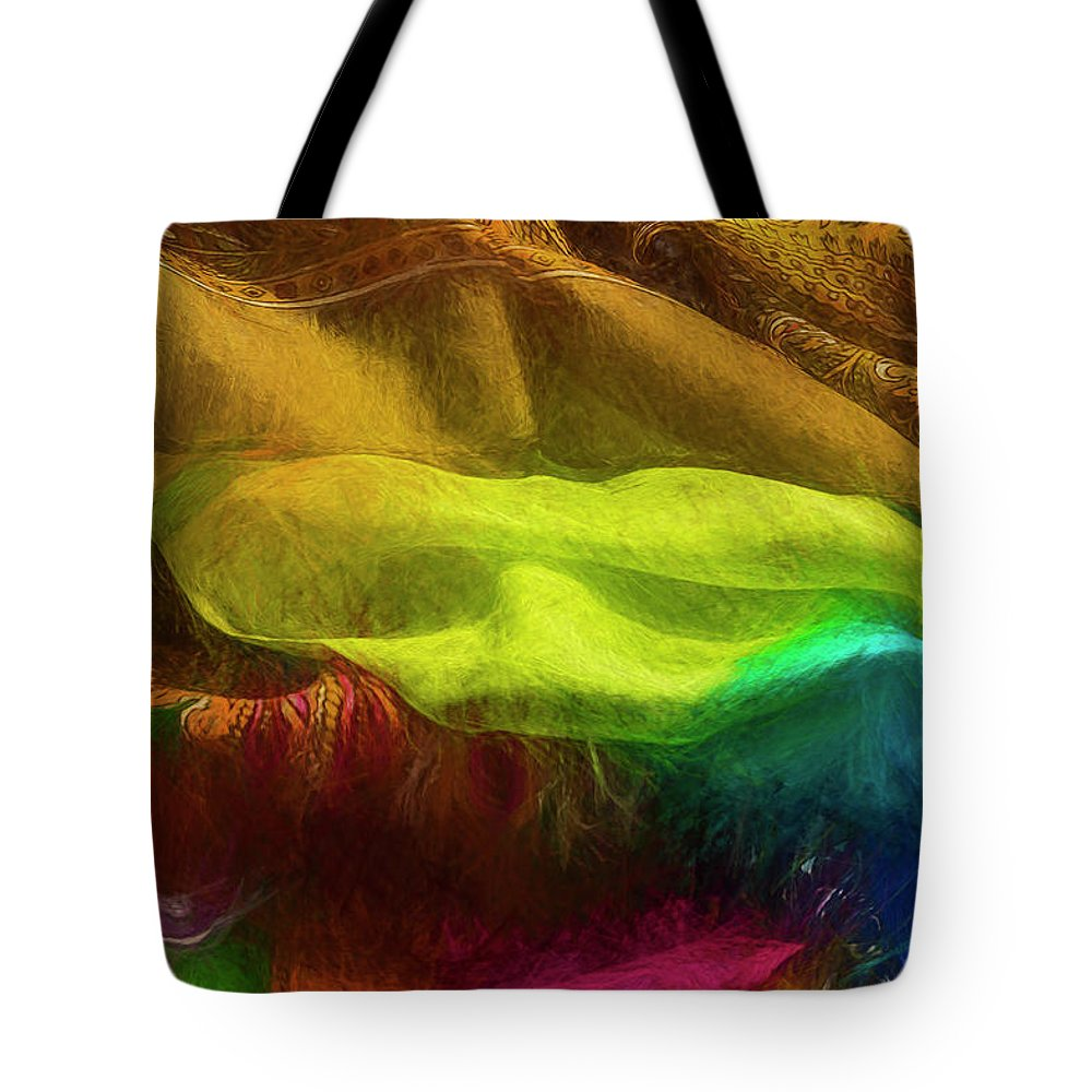 Photography Tote Bag featuring the photograph Veiled Mask by Paul Wear