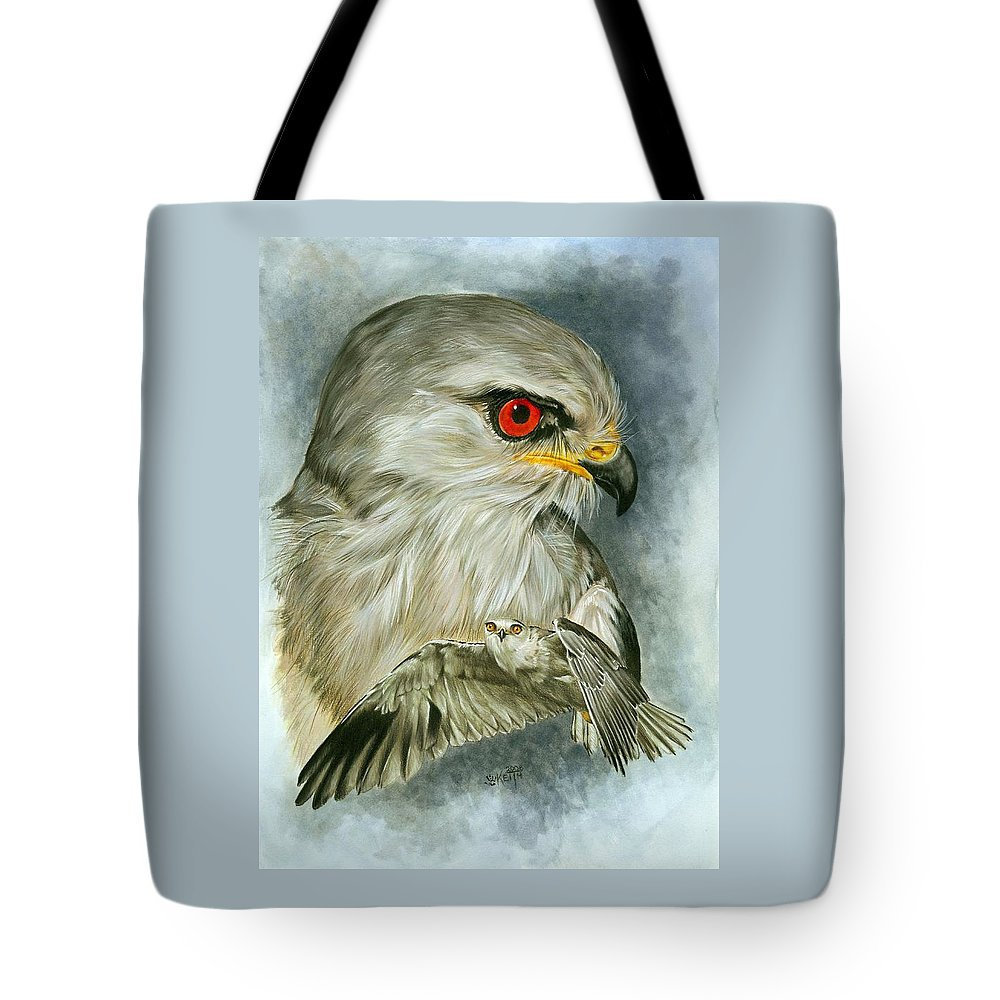Kite Tote Bag featuring the mixed media Velocity by Barbara Keith