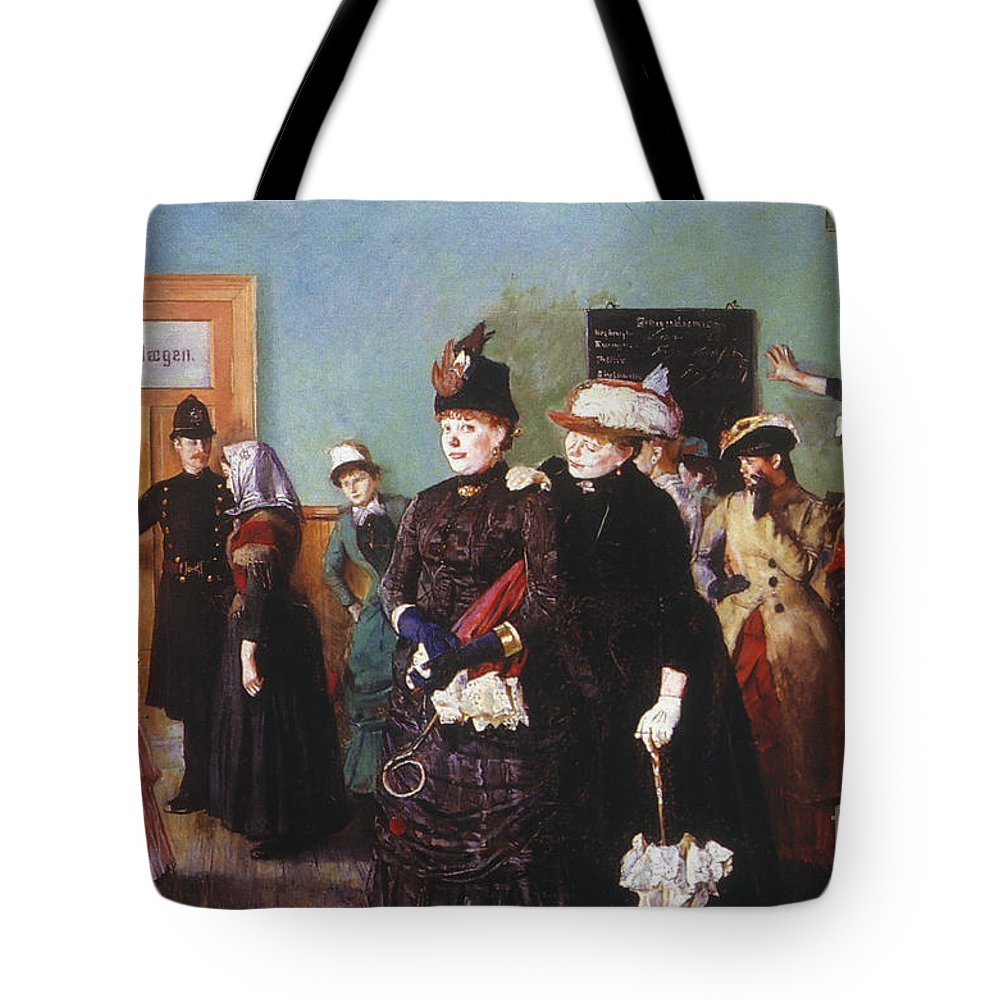 19th Century Tote Bag featuring the photograph Venereal Disease by Granger
