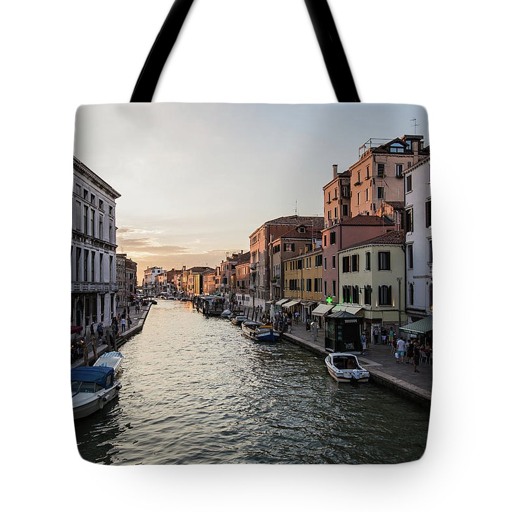 Boats Tote Bag featuring the photograph Venice by Joseph Hawk