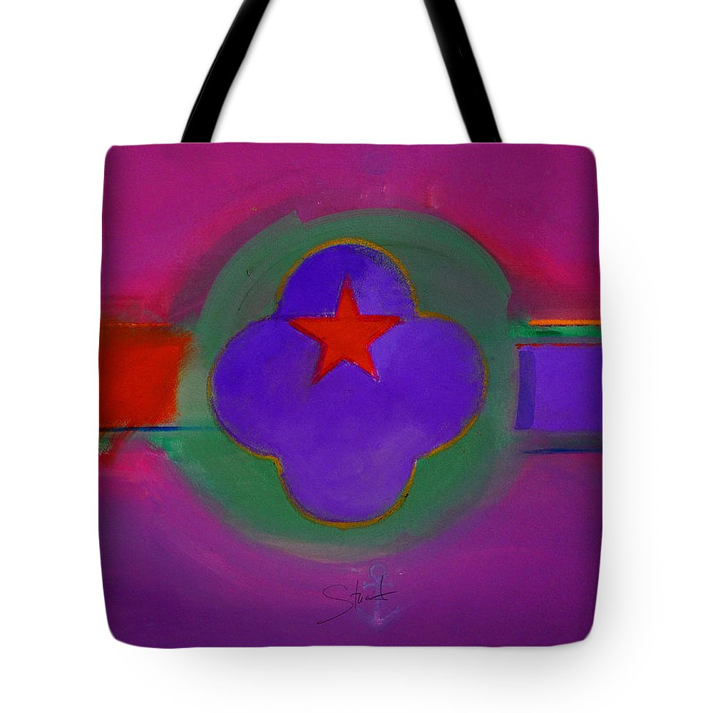 Star Tote Bag featuring the painting Venice Spiritual by Charles Stuart