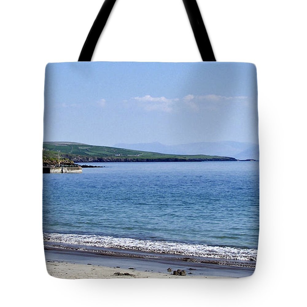 Irish Tote Bag featuring the photograph Ventry Harbor On The Dingle Peninsula Ireland by Teresa Mucha
