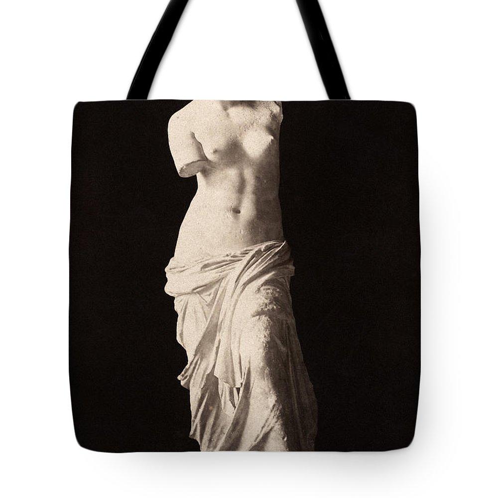 2nd Century B.c. Tote Bag featuring the painting Venus De Milo by Granger