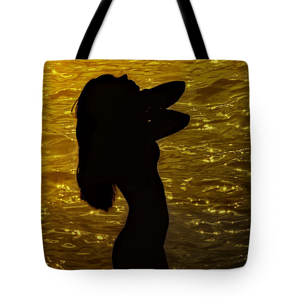Woman Tote Bag featuring the photograph Venus Del Mare by Joachim G Pinkawa