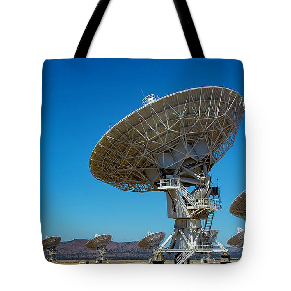 Very Tote Bag featuring the photograph Very Large Array by Patrick Burke