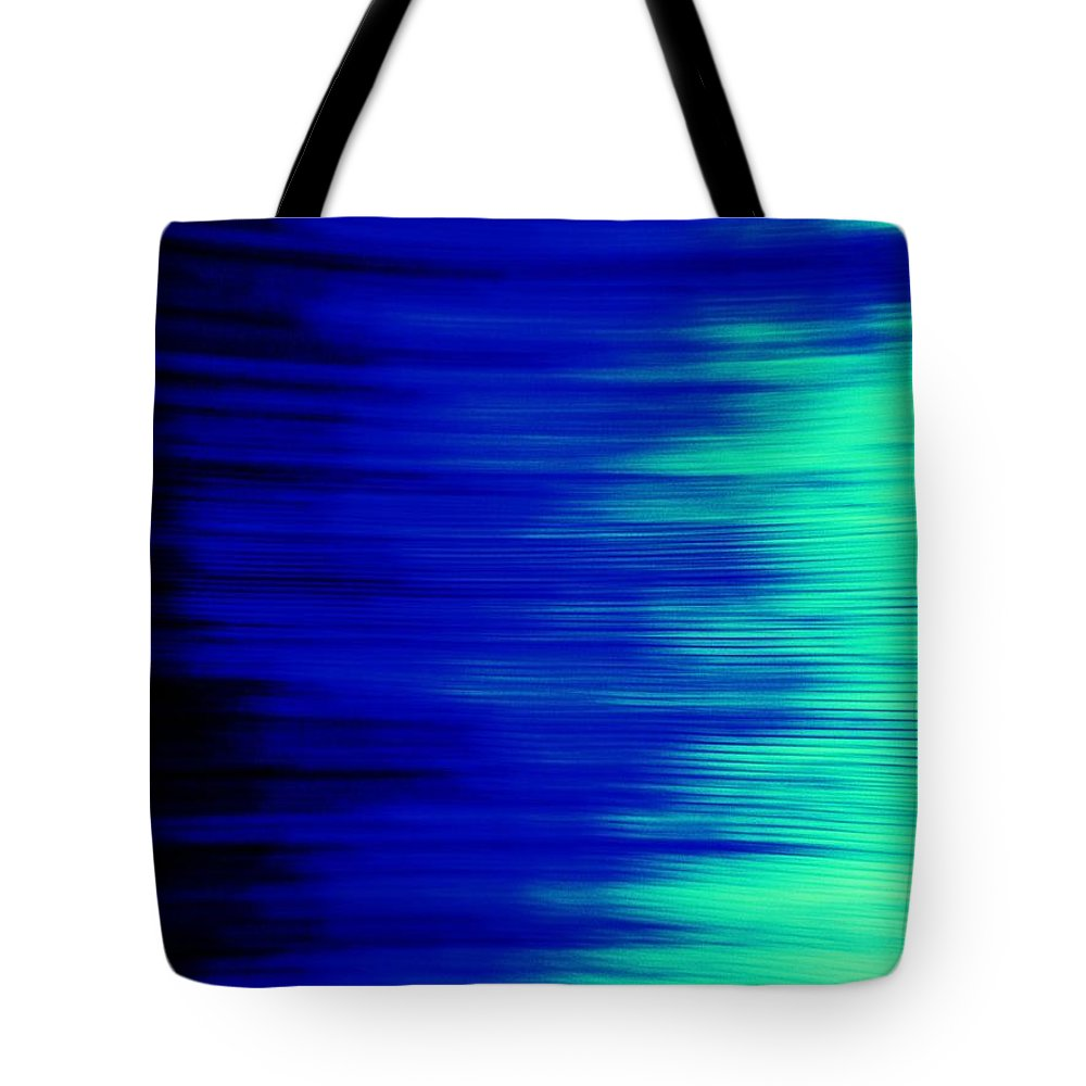 Abstract Tote Bag featuring the photograph Vibration II by Daniele Smith