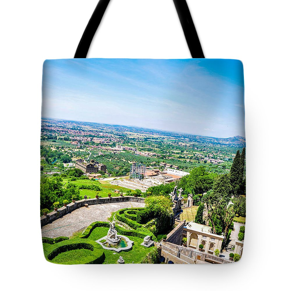 Aerial View Tote Bags