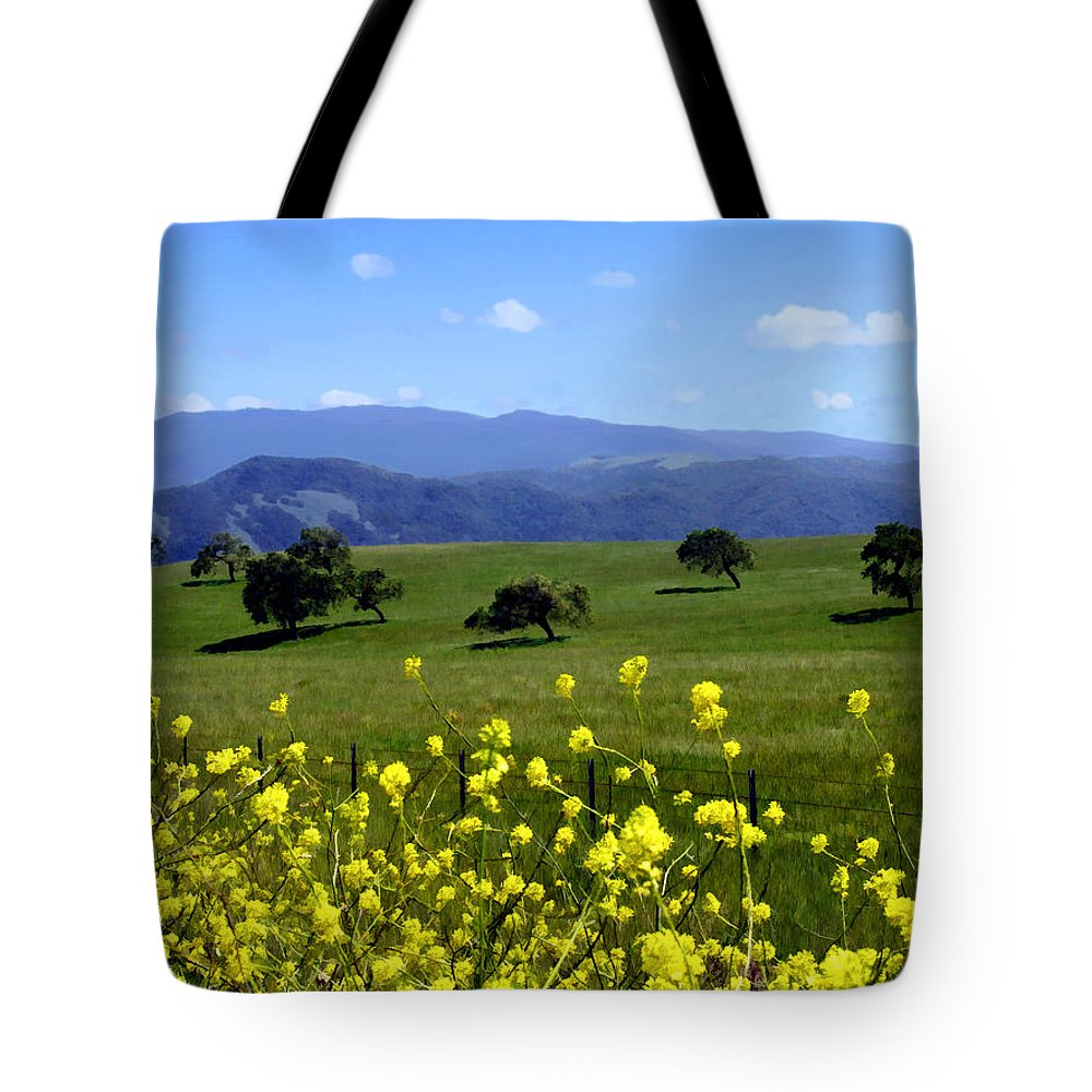 Wild Flowers Tote Bag featuring the photograph View From Highway 154 by Kurt Van Wagner
