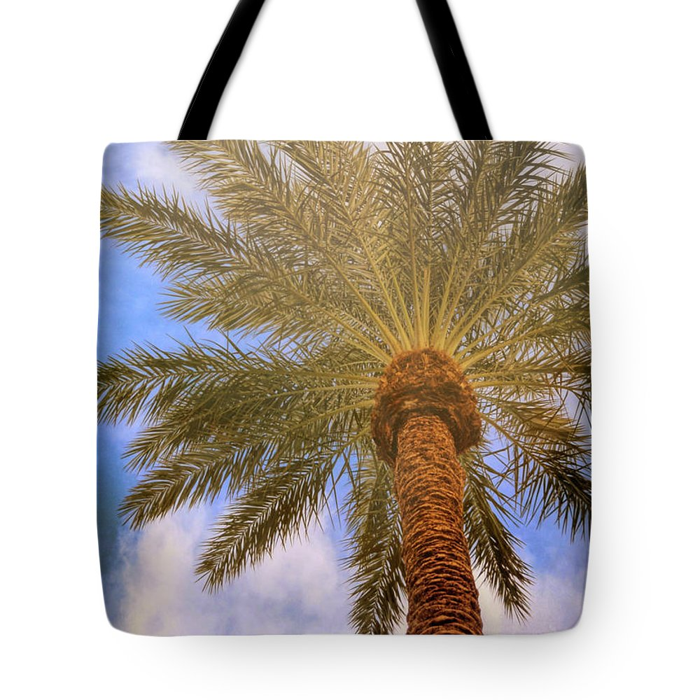 Vegas Tote Bag featuring the photograph View From The Pool by JAMART Photography