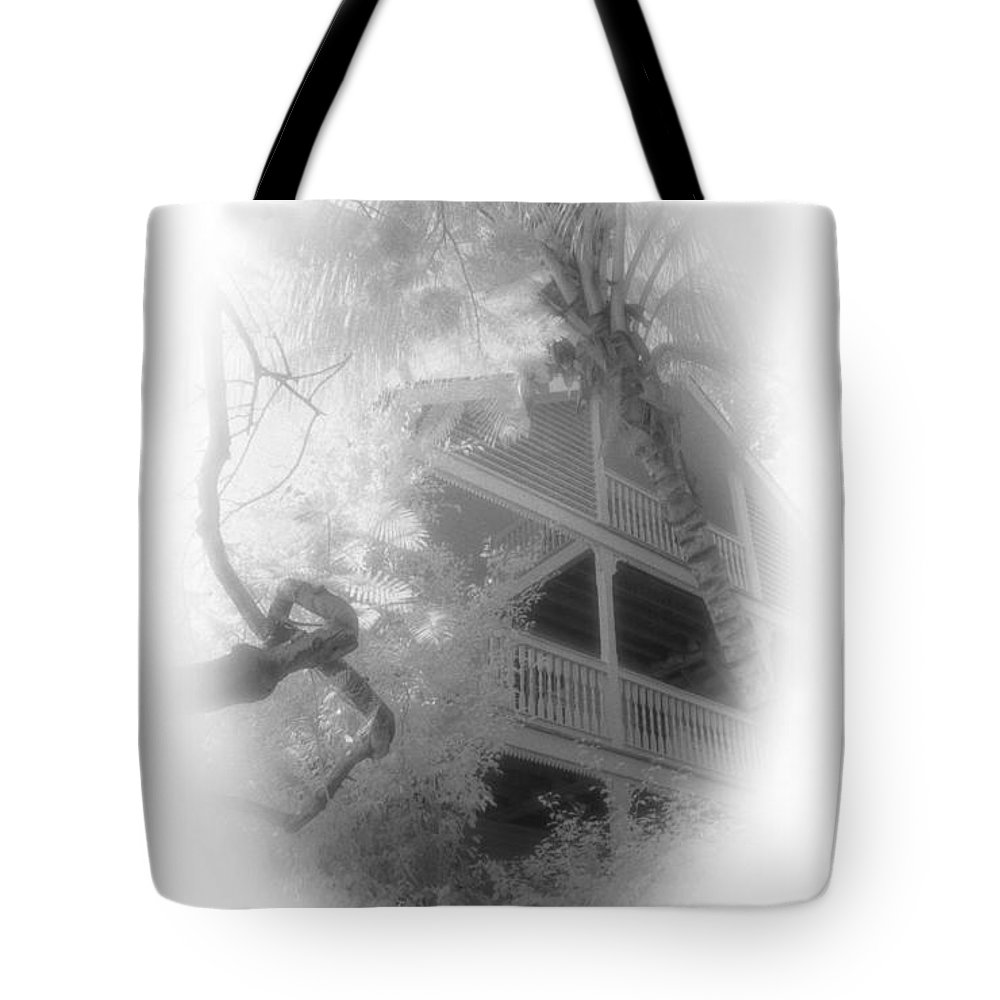 Balcony Tote Bag featuring the photograph View Of The Balcony by Richard Rizzo