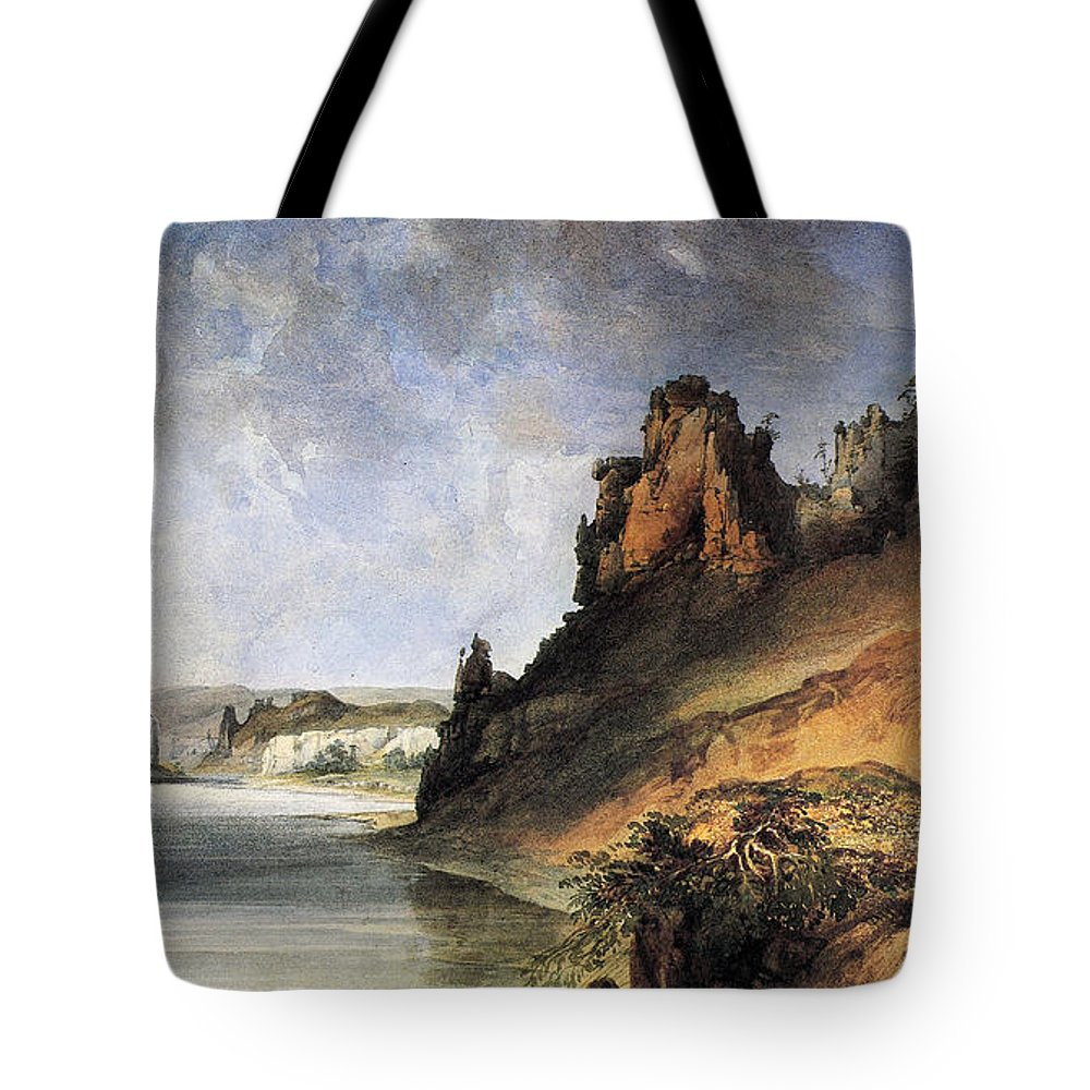 1830s Tote Bag featuring the photograph View Of The Stone Walls by Granger
