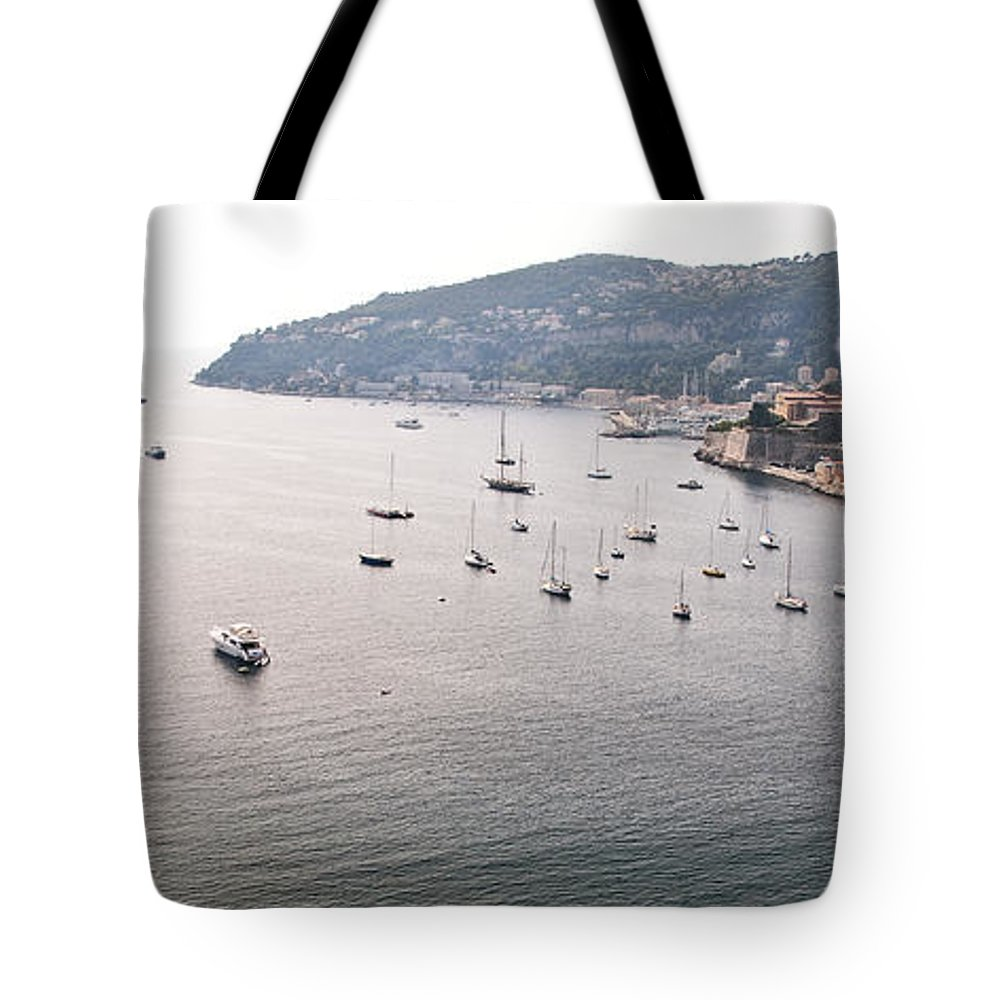Villefranche Tote Bag featuring the photograph Villefranche-sur-mer by Steven Sparks