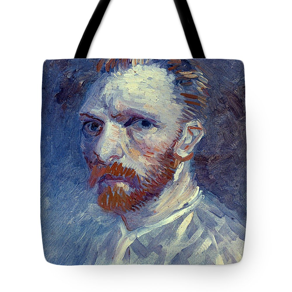 1887 Tote Bag featuring the photograph Vincent Van Gogh by Granger