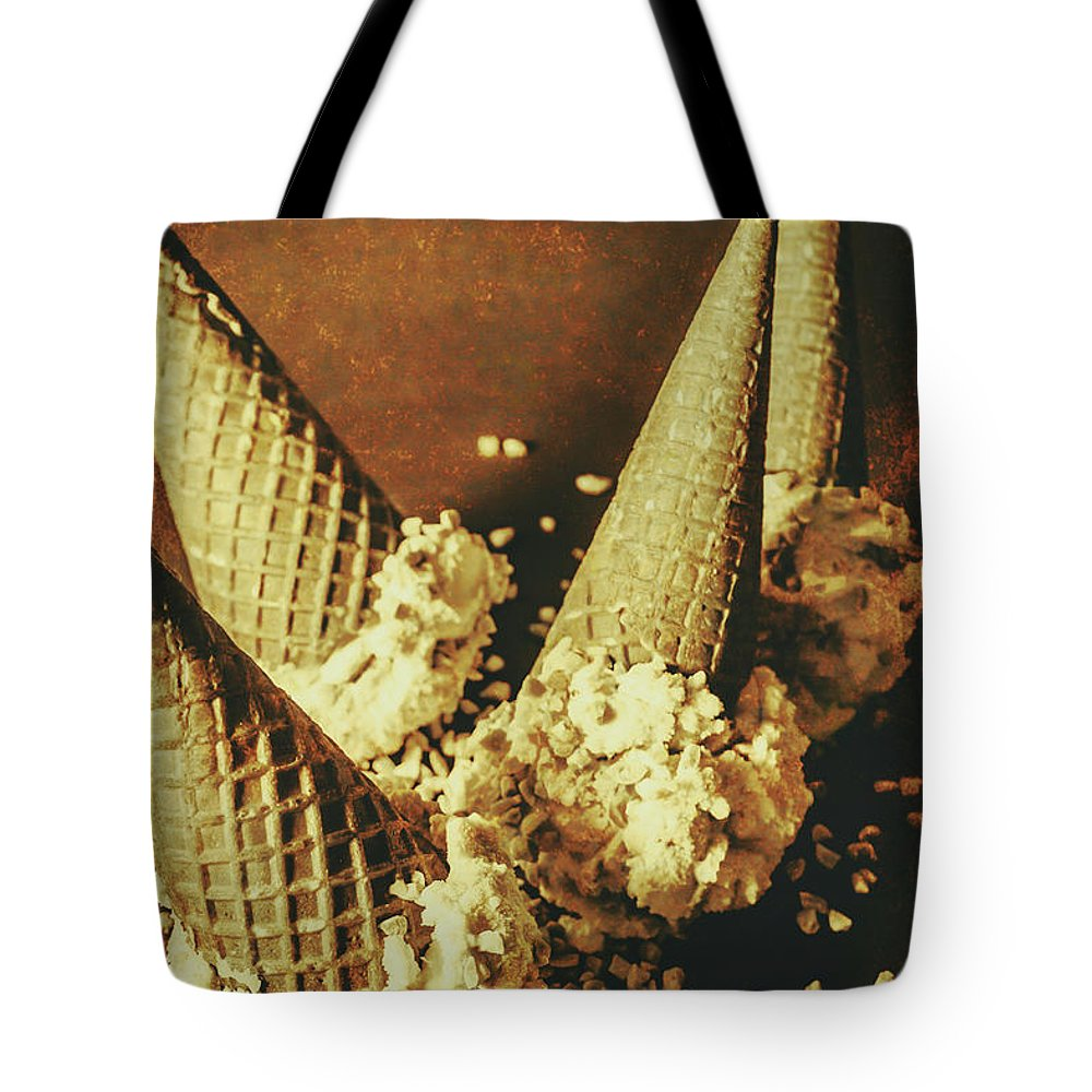 Vintage Ice Cream Cones Still Life Tote Bag for Sale by Jorgo ...