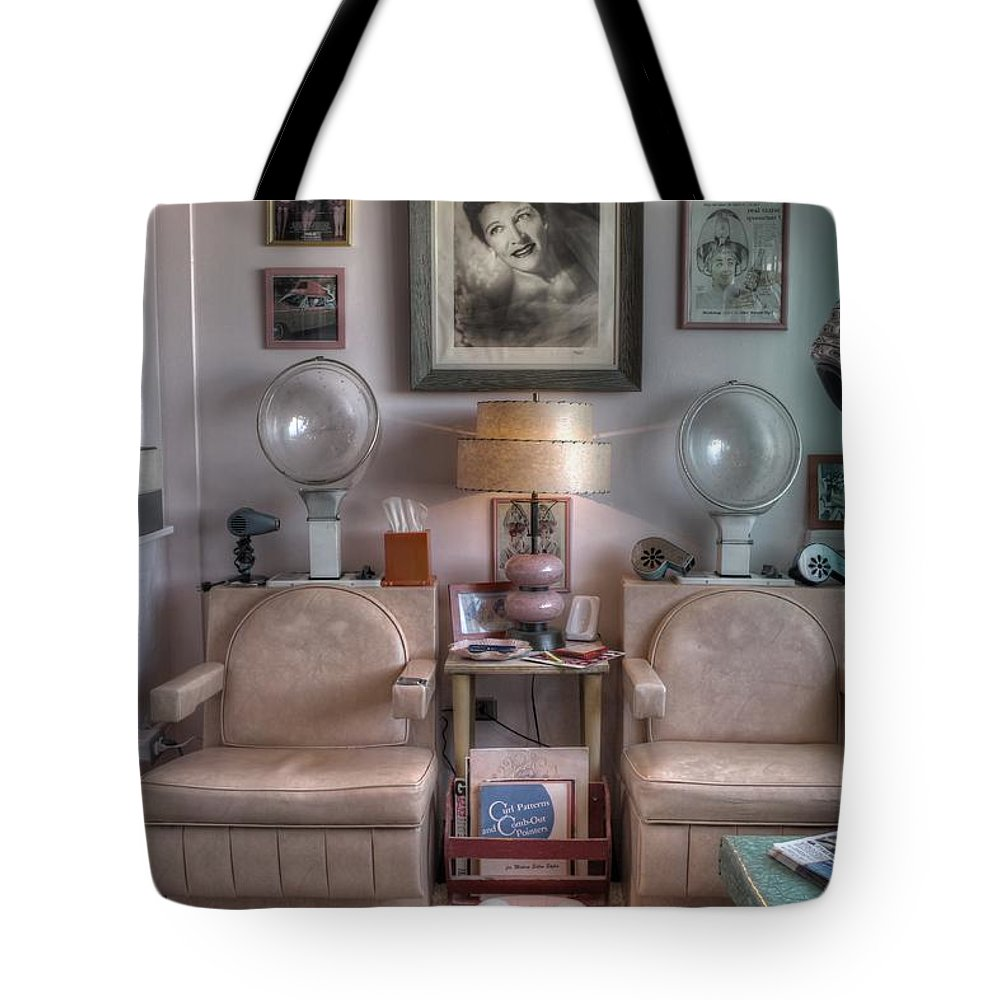 Vintage Mid Century Modern Beauty Parlor Salon Tote Bag for Sale by ...