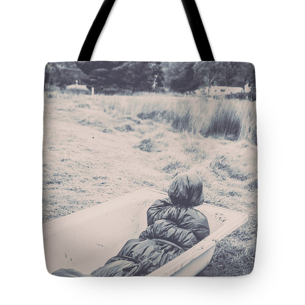 Scary Tote Bag featuring the photograph Vintage Murders by Jorgo Photography - Wall Art Gallery