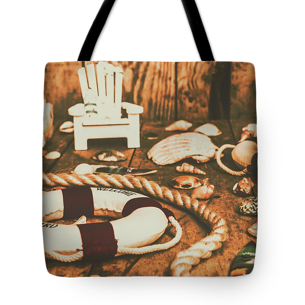 Sea Tote Bag featuring the photograph Vintage Ocean Porthole by Jorgo Photography - Wall Art Gallery