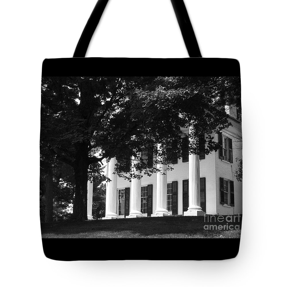 Vintage Tote Bag featuring the photograph Vintage Splendor by Ann Horn