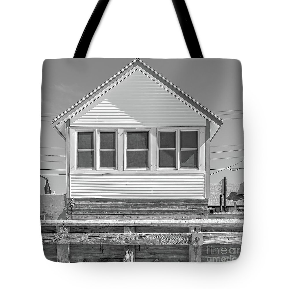 Cape Cod Tote Bag featuring the photograph 9 - Violet - Flower Cottages Series by Edward Fielding