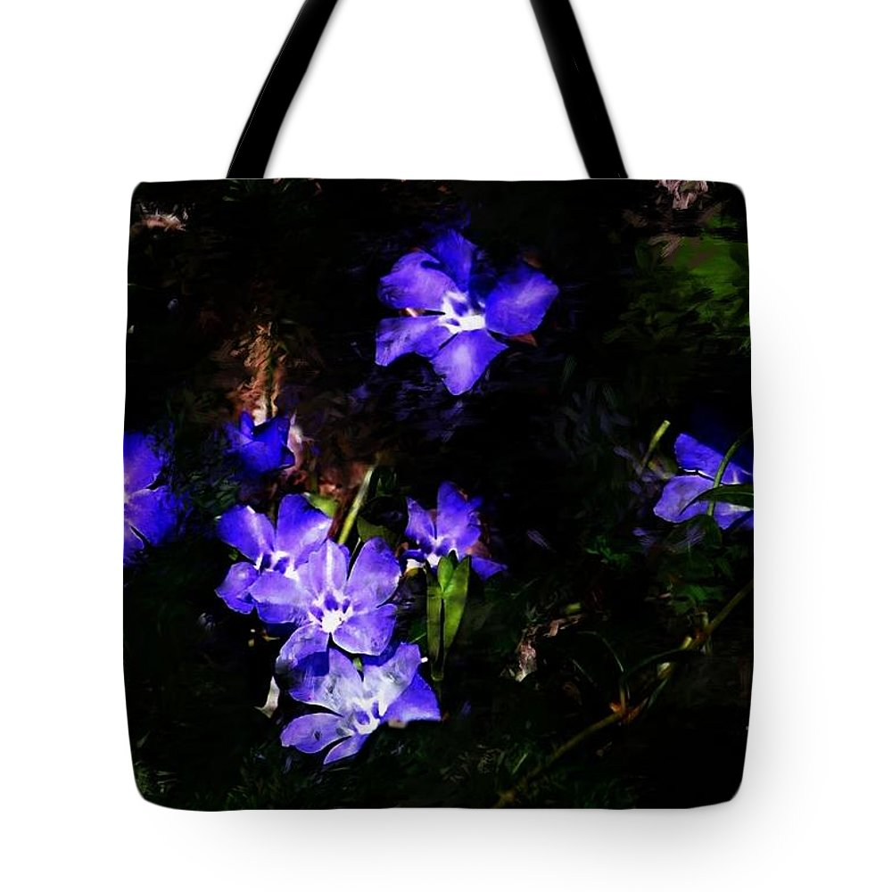 Spring Tote Bag featuring the photograph Violet by David Lane