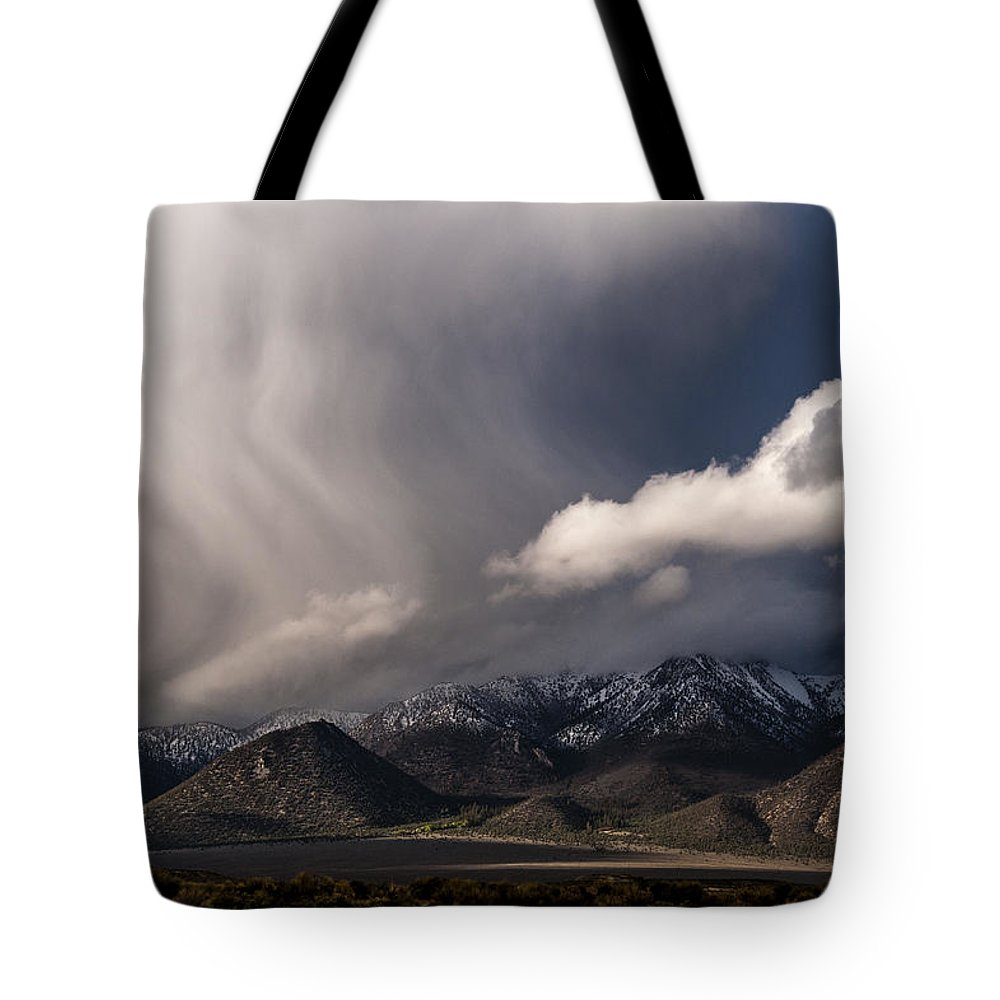 California Tote Bag featuring the photograph Virga by Cat Connor
