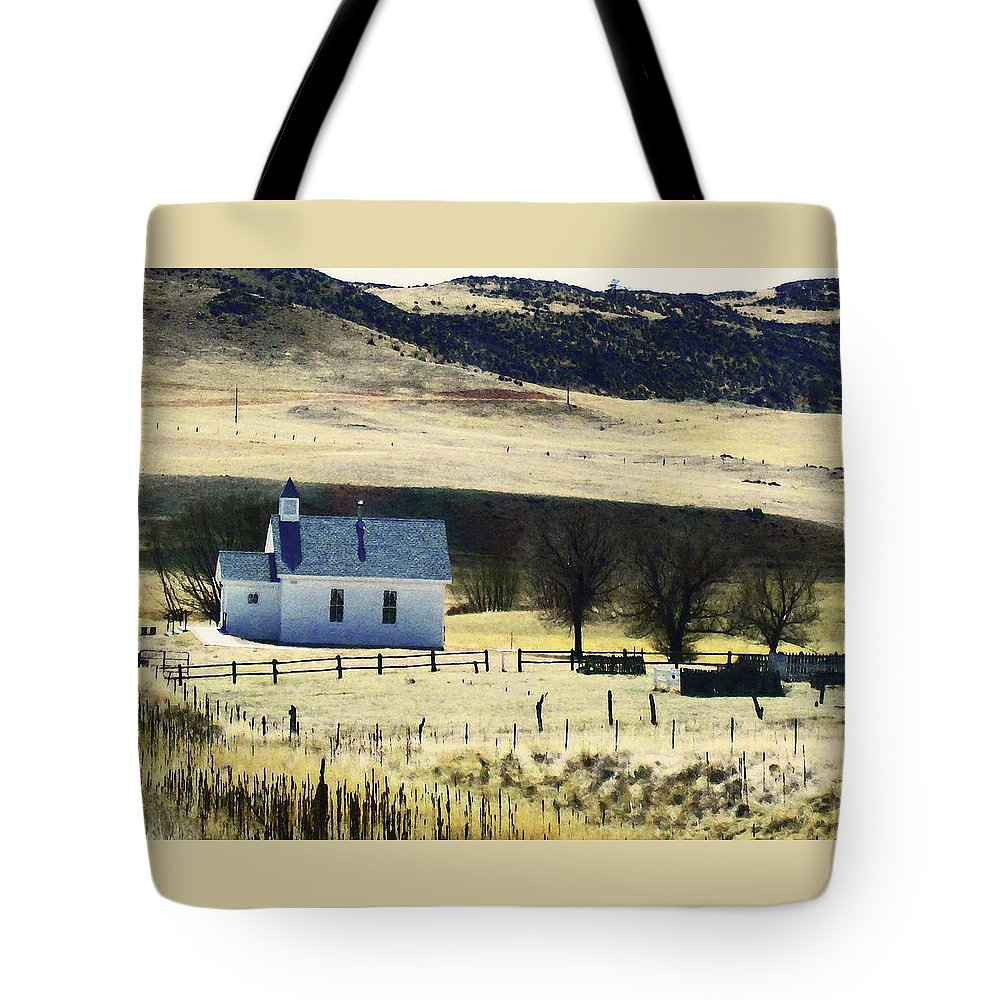 Abstract Tote Bag featuring the photograph Virginia Dale Colorado by Lenore Senior