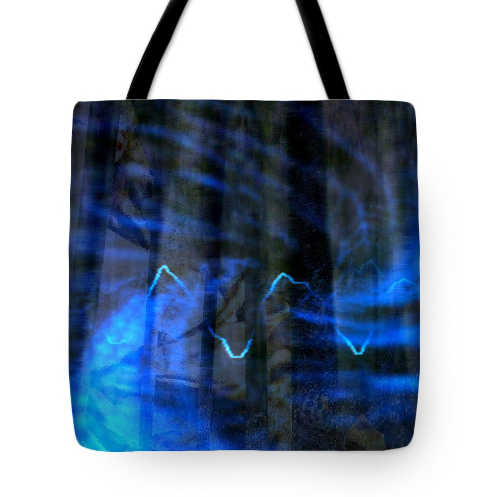 Vivandiere Tote Bag featuring the digital art Vivandiere by Seth Weaver