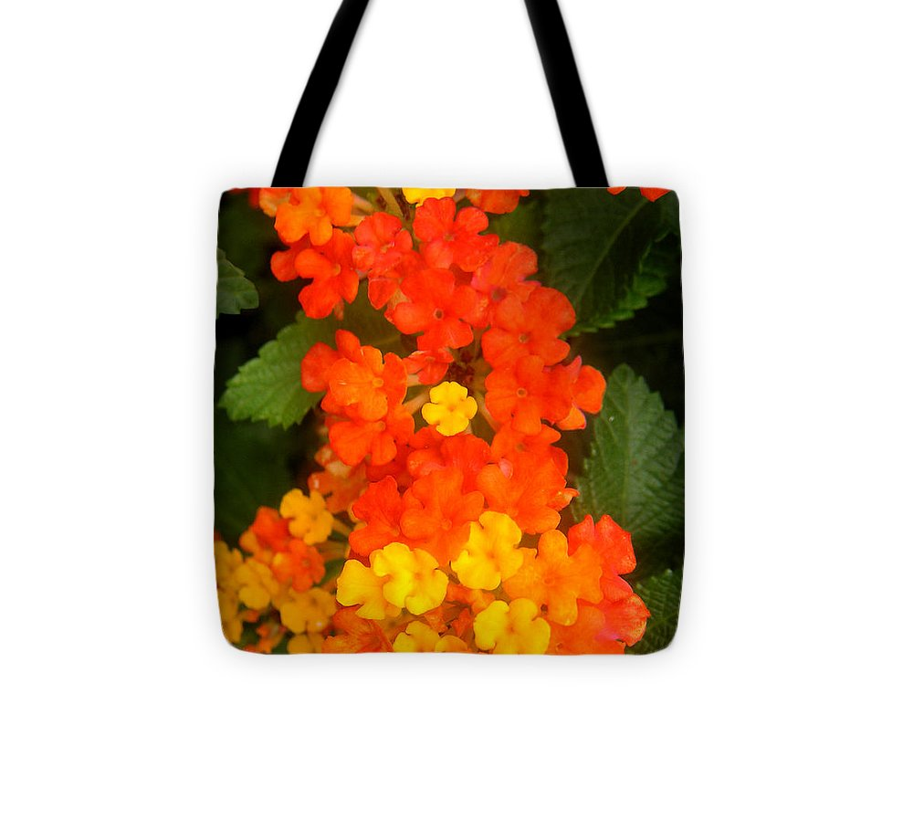 Nature Tote Bag featuring the photograph Volcanic Display by Lucyna A M Green
